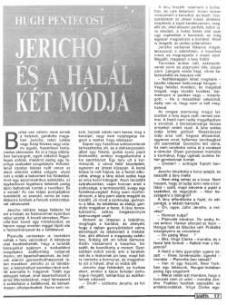 Hugh Pentecost: Jericho és a halál két módja