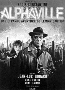 Jean-Luc Goddard Alphaville film