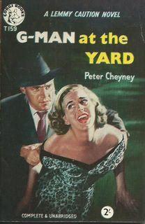 G-Man at the Yard