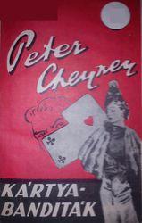 Kártyabanditák - Peter Cheyney