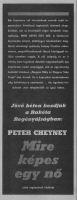 Peter Cheyney: Mire képes egy nő