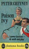 Peter Cheyney: Poison Ivy