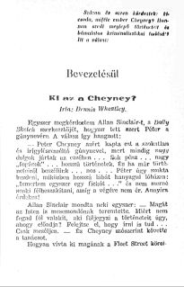 Wheatley - Peter Cheyney