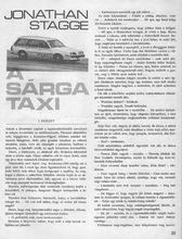 A sárga taxikicsi