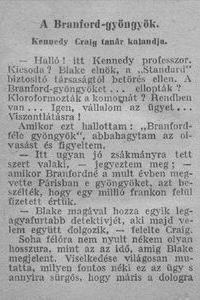 A Branford-gyöngyök k
