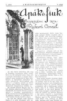 Richard Connell: Apák és fiúk