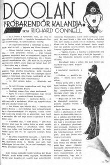 Richard Connell: Doolan próbarendőr kalandja