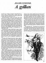 Julian Symons: A gyilkos