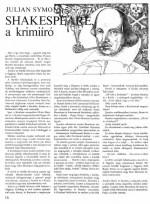Julian Symons: Shakespeare, a krimiíró
