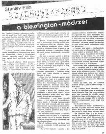 Stanley Ellin:A Blessington-módszer
