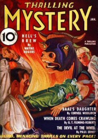 Cornell Woolrich: Thrilling Mystery 1936