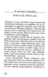 Donald E. Westlake: A ravasz vonzása