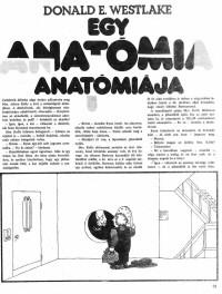 Donald E. Westlake: Egy anatómia anatómiája