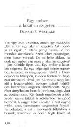 Donald E. Westlake: Egy ember a lakatlan szigeten