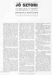 Donald E. Westlake: Jó sztori