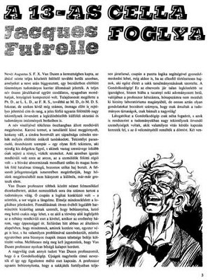 A 13-as cella foglya - Jacques Futrelle